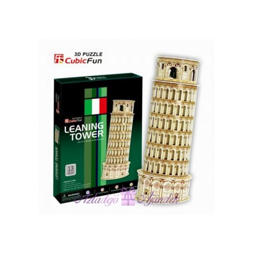 3D puzzle kicsi Pisa Tower