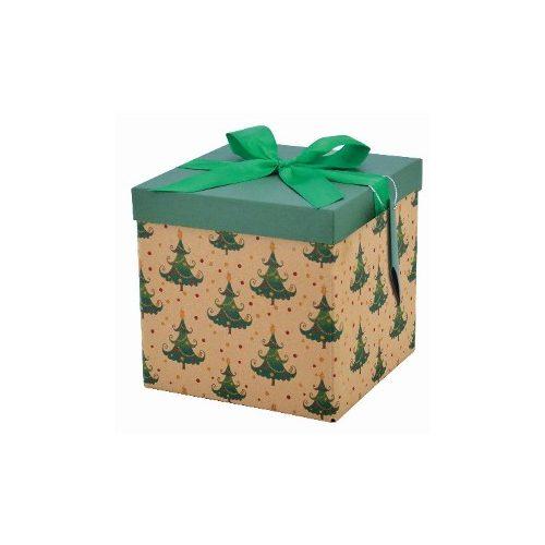 Összehajtható karácsonyi doboz M méret