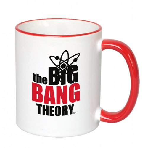 The big bang theory piros fülű bögre