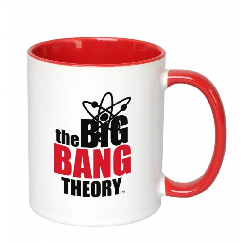 THE BIG BANG THEORY BÖGRE piros füllel, belsővel