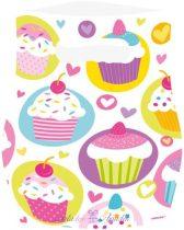 Cupcake, Muffin Ajándéktasak 6 db-os