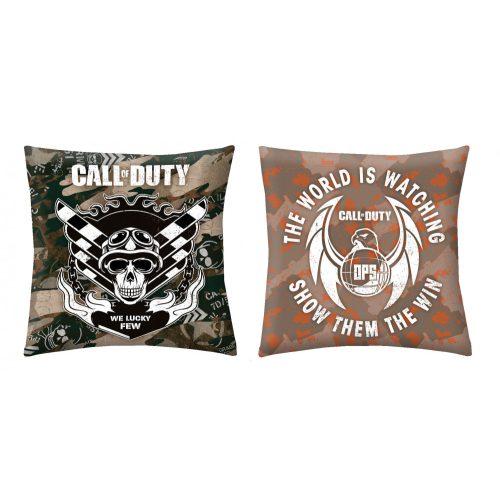 Call Of Duty díszpárna Töltött!
