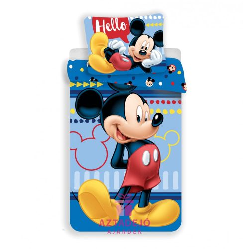 Ágyneműhuzat Disney Mickey 140×200cm, 70×90 cm