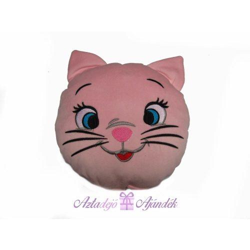 Cicás díszpárna rózsaszín