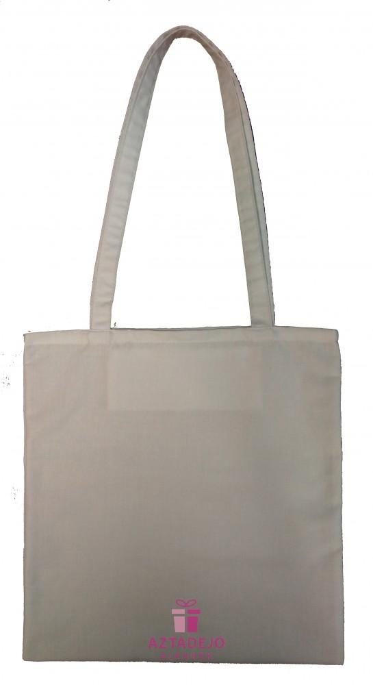 806ae0ebd557 Fehér vászon táska - Aztadejó Ajándék
