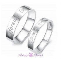 Szív Forever Love gyűrű (egy darab)