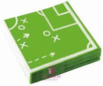 Focis szalvéta zöld 20 db-os 33*33 cm