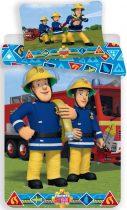 Ágyneműhuzat Fireman Sam, Sam a tűzoltó 140×200cm, 70×90 cm