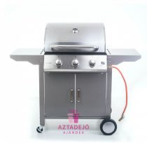 G21 Oklahoma BBQ Premium line gázgrill, 3 égőfej+grilltakaró