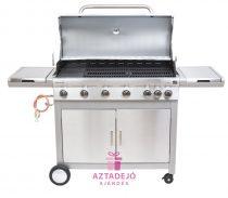 G21 Mexico BBQ Premium line gázgrill, 7 égőfej + nyomáscsökkentő+grilltakaró