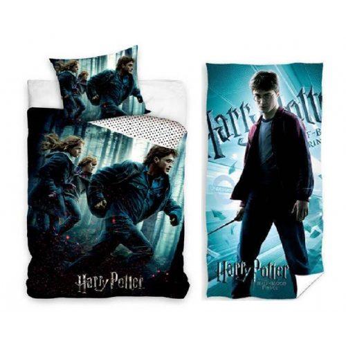 Harry Potter ágyneműhuzat törölköző szett
