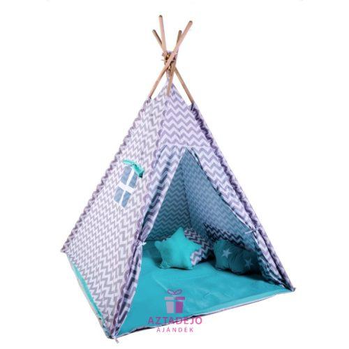 G21 TEEPEE jégvár sátor, türkiz + ajándék