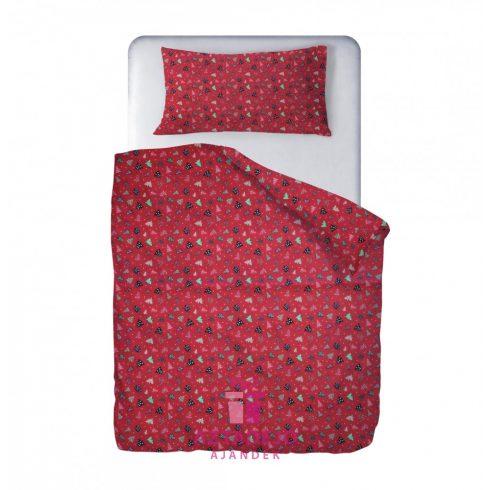 Karácsonyi ágynemű piros