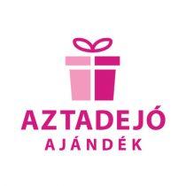 Karácsonyi szalvéta textil 4 db 25x25 cm barna