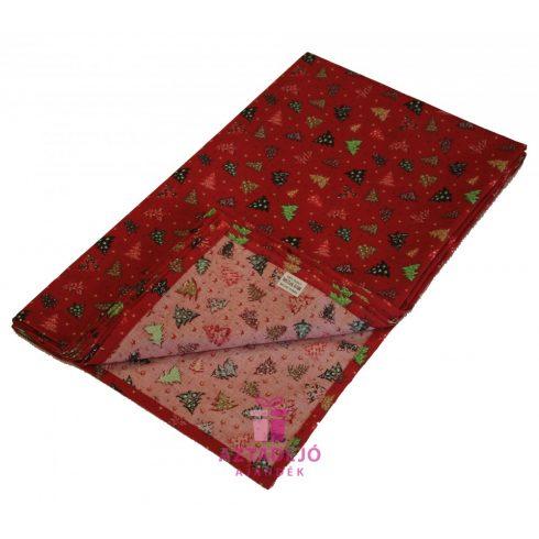 Karácsonyi asztalterítő 135x80 cm piros