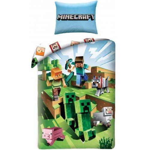 Minecraft ágyneműhuzat 140x200 cm 70x90 cm
