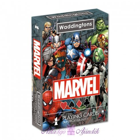 Marvel Universe Waddingtons francia kártya