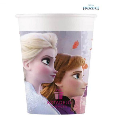 Disney Frozen II, Jégvarázs Papír pohár 8 db-os 200 ml