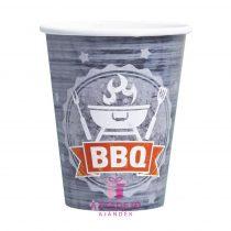 Papír pohár BBQ Party 250 ml