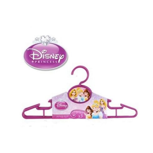 Vállfa szett 3 darabos Disney Hercegnők, Princess