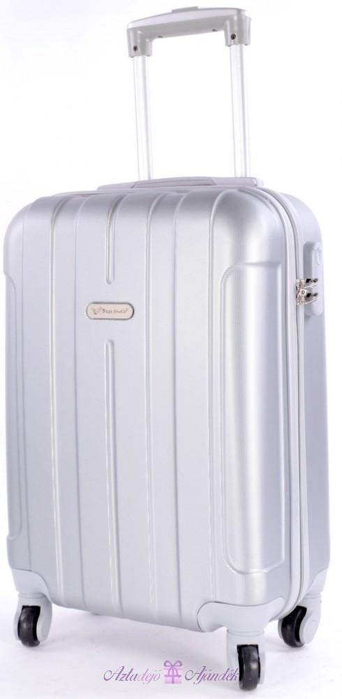 Bőrönd cabin ryanair eue 701simpl silver white